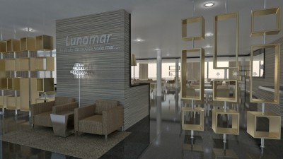 Restaurante do Hotel Lunamar **** – Beira, Moçambique