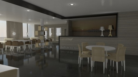 Restaurante do Hotel Lunamar **** – Beira, Moçambique