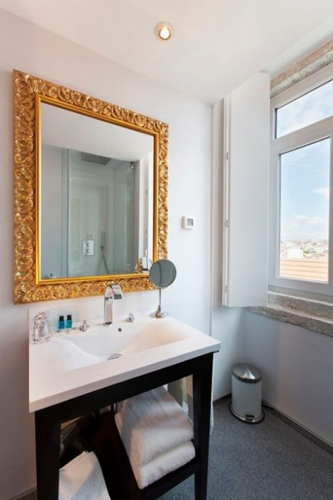 WC quarto clássico do Lisboa Carmo Hotel **** – Largo do Carmo, Chiado, LIsboa