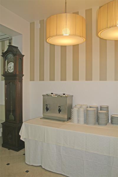 Sala de refeições da Pensão Alegre – Monte Real