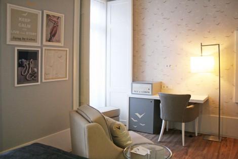 Quarto do Hotel Lisboa Tejo *** – Praça da Figueira, Lisboa