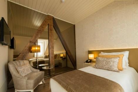 Quartos mansarda do My Story Hotel Ouro*** – Rua do Ouro, Baixa de Lisboa